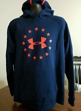 EUC M UNDER ARMOUR COLD GEAR HOODIE HOOD SWEATSHIRT