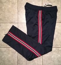 TOMMY HILFIGER * Mens  BLUE / RED / WHITE Athletic / Work-out Pants * Size M