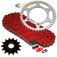 Red O-Ring Drive Chain & Sprockets Fits KAWASAKI EX300 Ninja 300 ABS SE 2013-16