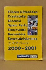 2000-2001 Salomon Ski Alpine Binding Boots Snowboard Skates Parts Book Catalog