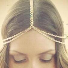 Bohemian Women Metal Tassel Head Chain Headband Jewelry Headpiece Hair Band New