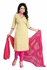 Bollywood Anarkali Poly Cotton Designer Printed Un Stitched Dress Material Suit