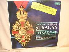 The Sound Of Richard Strauss Leinsdorf Philharmonia Orchestra NM/NM Free Ship