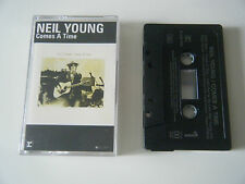 NEIL YOUNG COMES A TIME CASSETTE TAPE REPRISE 1978