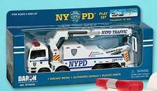 New York Police Department Polizei Pullback Truck Modellauto,USA Amerika,Neu