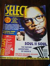 Select  Magazine #4  Oct 1990 Soul II Soul, Cocteau Twins, Spike Lee, The Fall