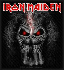 IRON MAIDEN - Patch Aufnäher - Eddie Candle finger 10x10cm