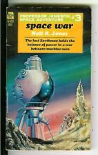 SPACE WAR by NR Jones, rare US Ace sci-fi Jameson #3 pulp vintage pb Morrow art