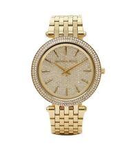 Michael Kors Women's Darci Gold-Tone Stainless Steel Bracelet Watch 39mm MK3438