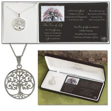 "Tree of Life Necklace, Silver Plated on 18"" Chain by Dicksons"