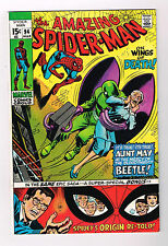"AMAZING SPIDER-MAN #94: Grade 8.5 Bronze Age Find ""On Wings Of Death!"""