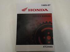 1985 1986 1987 HONDA ATC250ES BIG RED ATC 250 Service Shop Repair Manual NEW