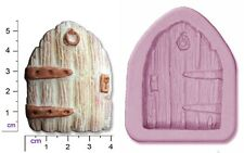 FAIRY / CASTLE DOOR Medium Craft Sugarcraft Sculpey Silicone Rubber Mould