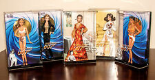 Complete set of James Bond 007 Black Label Barbie dolls - NRFB collection lot