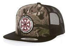 INDEPENDENT TRUCK CO CLASSIC CROSS MESH SNAPBACK CAP CAMO