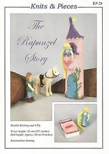 Rapunzel / Tangled Knitted Toy Pattern