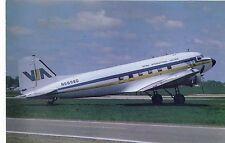 Viking International Airlines Douglas DC-3 N-6898D C/N 20082 Vintage Postcard
