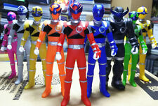 NEW Bandai POWER RANGERS Uchu Sentai Kyuranger Sentai Hero Series Figure 9 Set