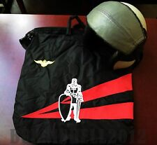 """USN Pilot Naval Aviation VFA-154 """"BLACK KNIGHTS"""" flight helmet bag HGU"""