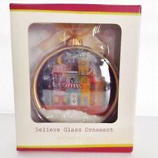 DEMDACO Glass ORNAMENT Snow Globe  CURLY GIRL by LEIGH STANDLEY.  NIB,