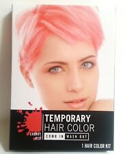 Temporary Hair Color Dye Pink Red Blue Single Use