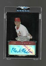 2006 Bowman Sterling Uncirculated Mark McCormick Prospect REF. Auto #15/25
