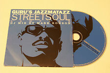 GURU´S JAZZMATAZZ STREETSOUL SAMPLER PROMO CD 2000 (Gang Starr The Roots Kelis)