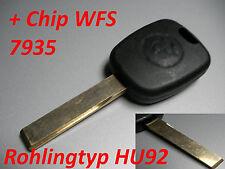 BMW E46 E39 E60 E38 E83 E53 Schlüsselrohling Rohling + Wegfahrsperre Chip 7935