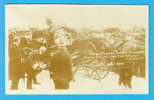 Sepia Postcard PC Scarborough 1908 Duchess of Connaught Royalty New Marine Drive