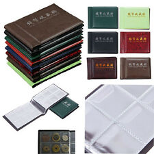 Hot Collecting Penny Money 60 Coin Storage Holder Pocket Collection Album Book