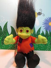 "HALLOWEEN FRANKIE / FRANKENSTEIN - 6"" Soft Russ Troll Doll - NEW STORE STOCK"