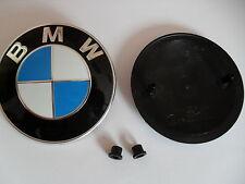 Original BMW Emblem mit Tüllen Zeichen 8132375 Typenschild 82mm für Motorhaube