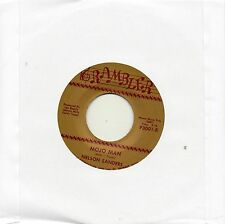 NELSON SANDERS   MOJO MAN / I'M LONELY    RAMBLER Re-Issue/Re-Pro  NORTHERN SOUL