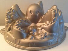 "UNUSED HUGE 10"" WILLIAMS SONOMA NORDICWARE 3D OCTOPUS BUNDT CAKE PAN JELLO MOLD"