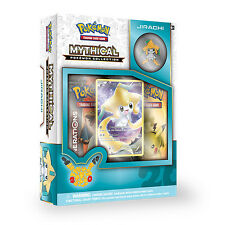POKEMON JIRACHI MYTHICAL COLLECTION BOX - GENERATIONS BOOSTER PACKS +PROMO + PIN