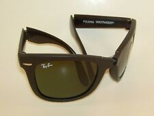 New  RAY BAN Sunglasses FOLDING WAYFARER  Matte Black  RB 4105 601S  50mm Medium