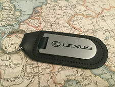 GENUINE ORIGINAL LEXUS LEATHER KEYRING KEYFOB CT IS GS LX RX