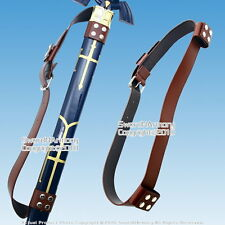 Medieval Back Hanger Baldric Sword Belt for Zelda Link Princes Anime Sword