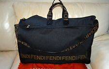 AUTHENTIC AND CLASSIC FENDI XL TRAVEL/WEEKENDER/CARRY ON BAG.