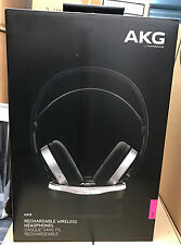 AKG K915 Rechargable Wireless Over-Ear Headphones for Movies TV Games Music NEW
