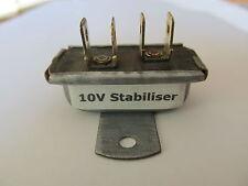 Electronic 10volt stabiliser (-ve or +ve earth) – re-built in your original case
