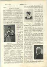 1898 Miss Julie Peterson Miss Violet Ludlow Mr Jh Stoddart