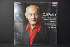 LP: Brahms Chicago Symphony Orchestra Sir Georg Solti London Jubilee