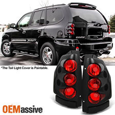 2002-2009 GMC Envoy Black Tail Lights Brake Lamps Left+RIght 02-09 tailight sets
