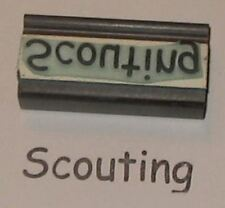 Scouting word rubber stamp by Amazing Arts