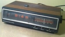 Vintage AM/FM Flip Clock Radio ~ Alarm / Radio 680-3781 JC Penney Co