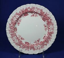 """Wedgewood - BRAMBLE Pink with Shell Edge - 8 1/4"""" Salad Plate"""