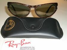 VINTAGE B&L RAY BAN W2354 YNAS GOLD G15 FLASH SPARKLED SKYLINE WRAP SUNGLASSES