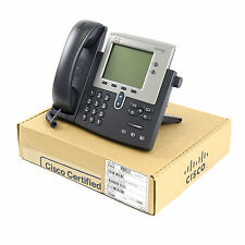Cisco CP-7942G 7942 SCCP IP Telephone Phone PoE - Certified Refurbished