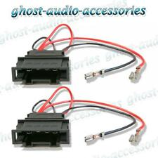 Volkswagen Bora 1999 - 2005 Speaker Adaptor Plug Leads Connector Cable Pair